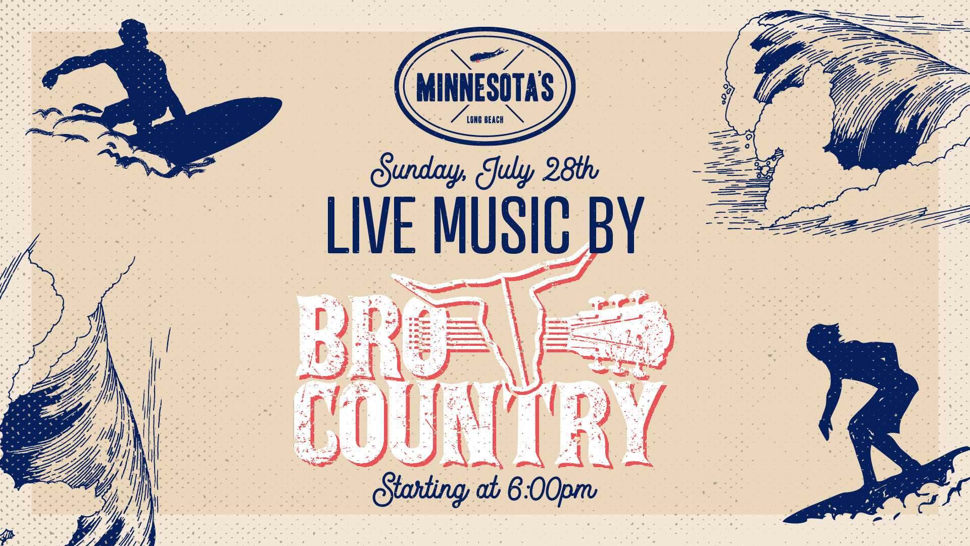 Live Music with Bro Country July 28th