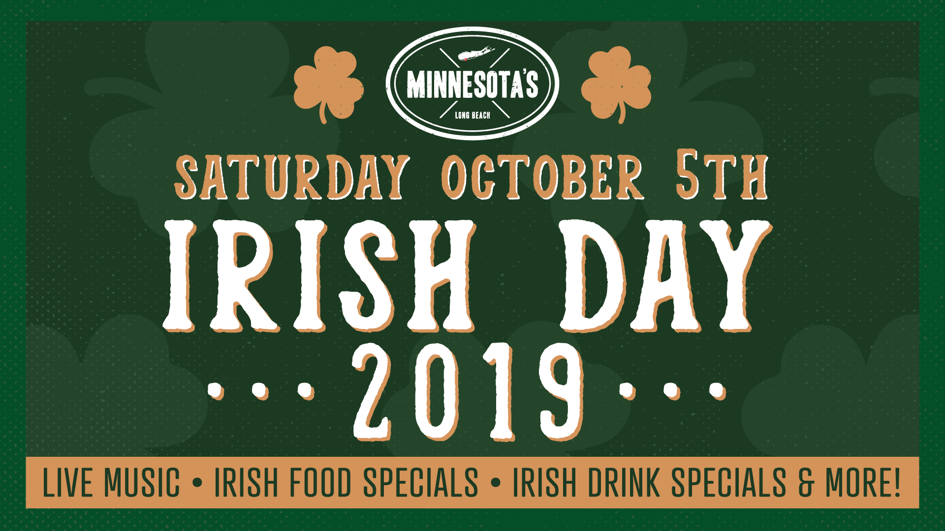Irish Day 2019 Flyer