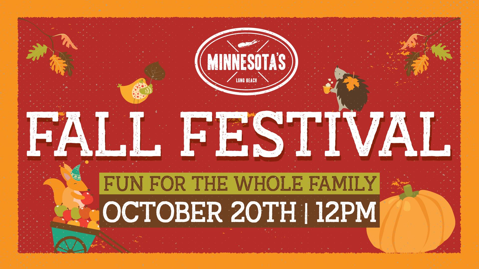 Fall Festival 2019 Flyer