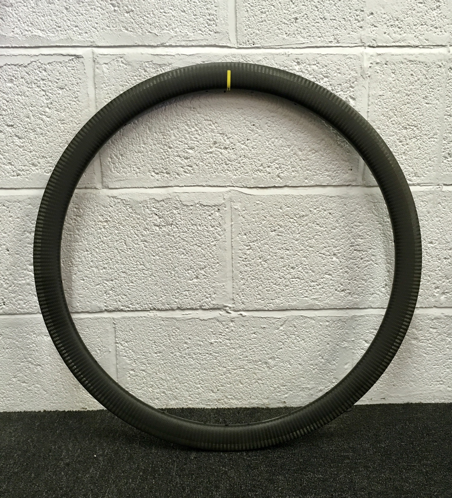 Mavic CXP Carbon rim (used on Mavic Cosmic Pro Carbon Sl)  Rim weight 430g  Rim height 40mm  Cost £545 each rim