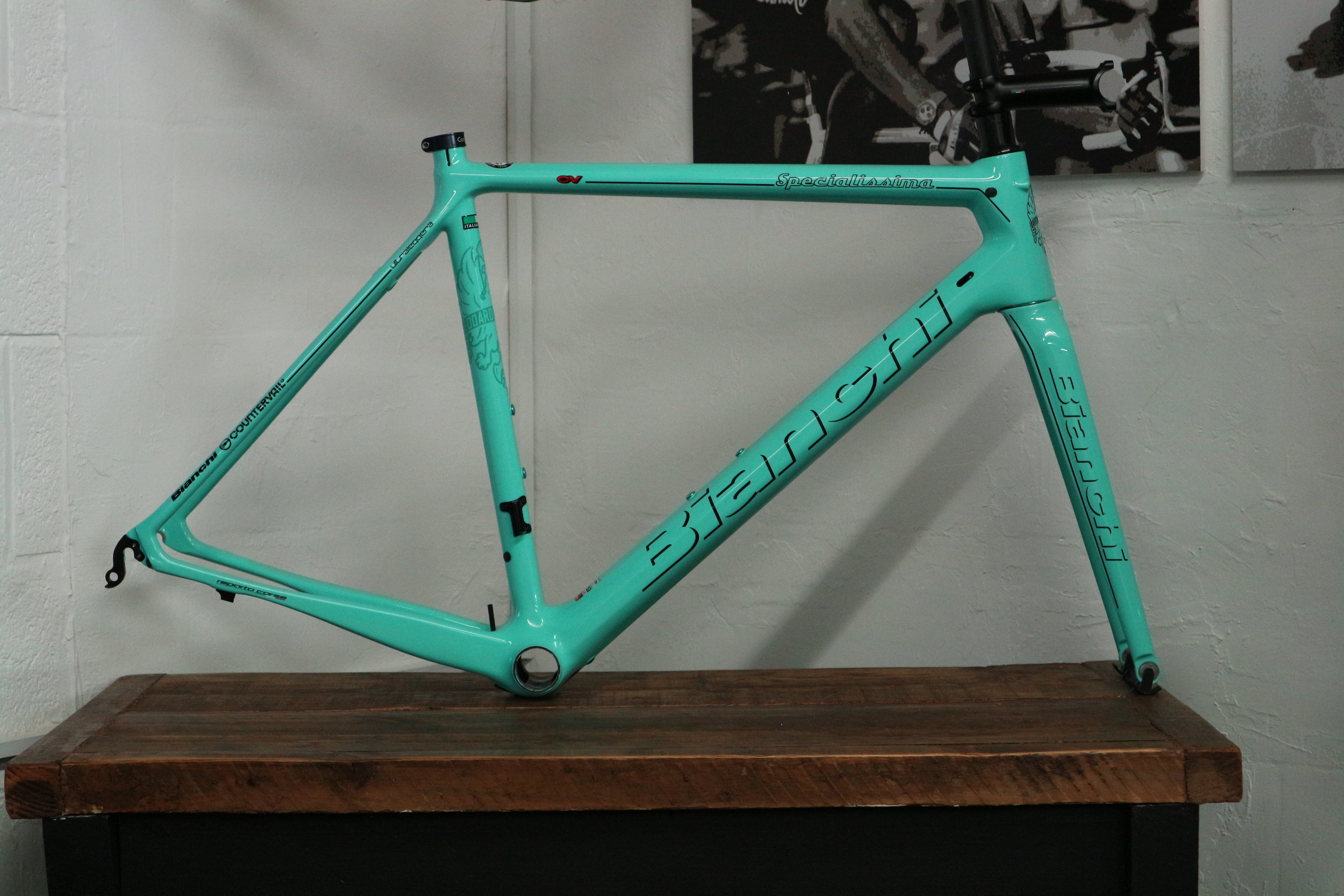 Bianchi Specialissima in CK16 glossy.