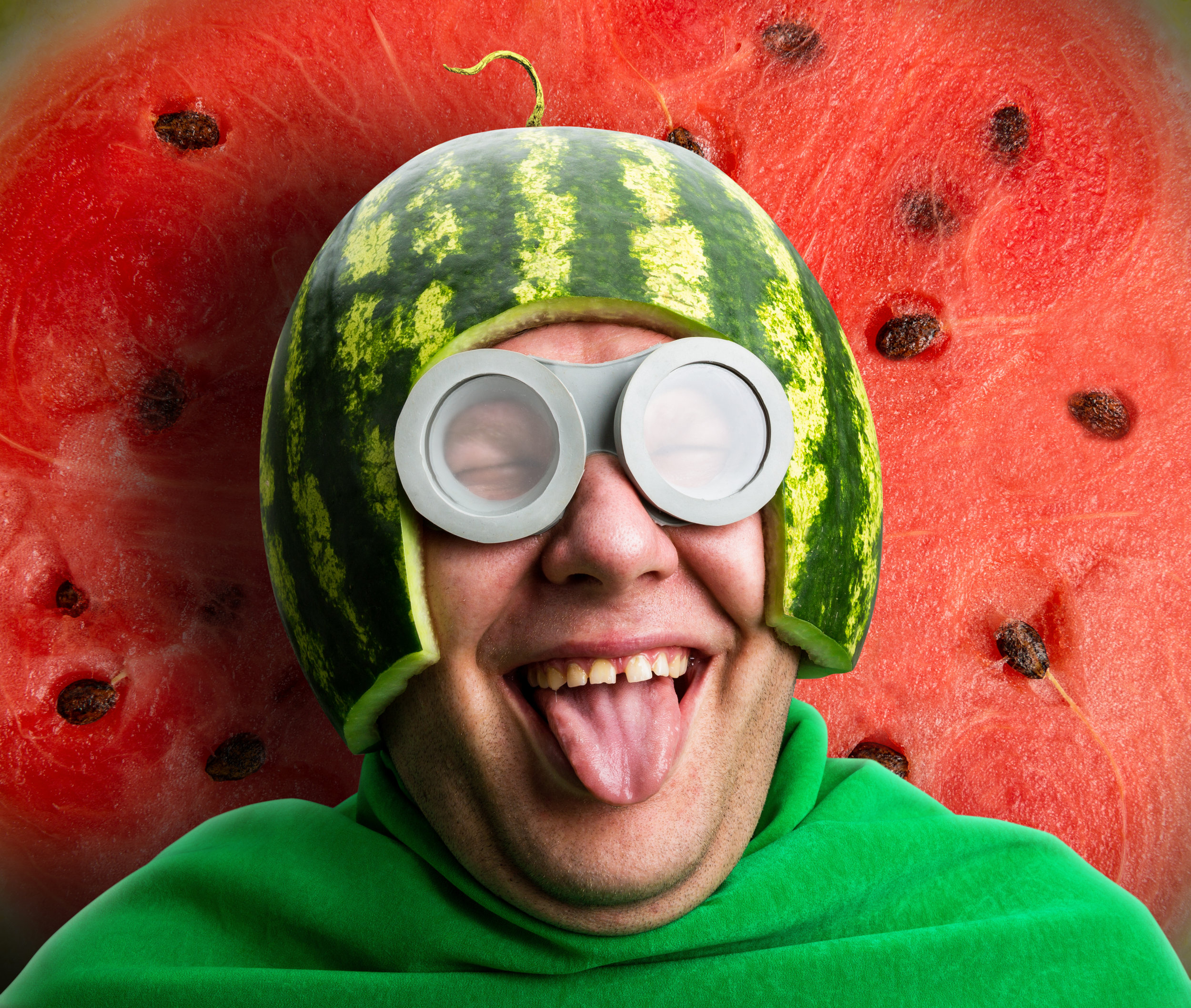 If you want to wear a watermelon hat, you just do it!