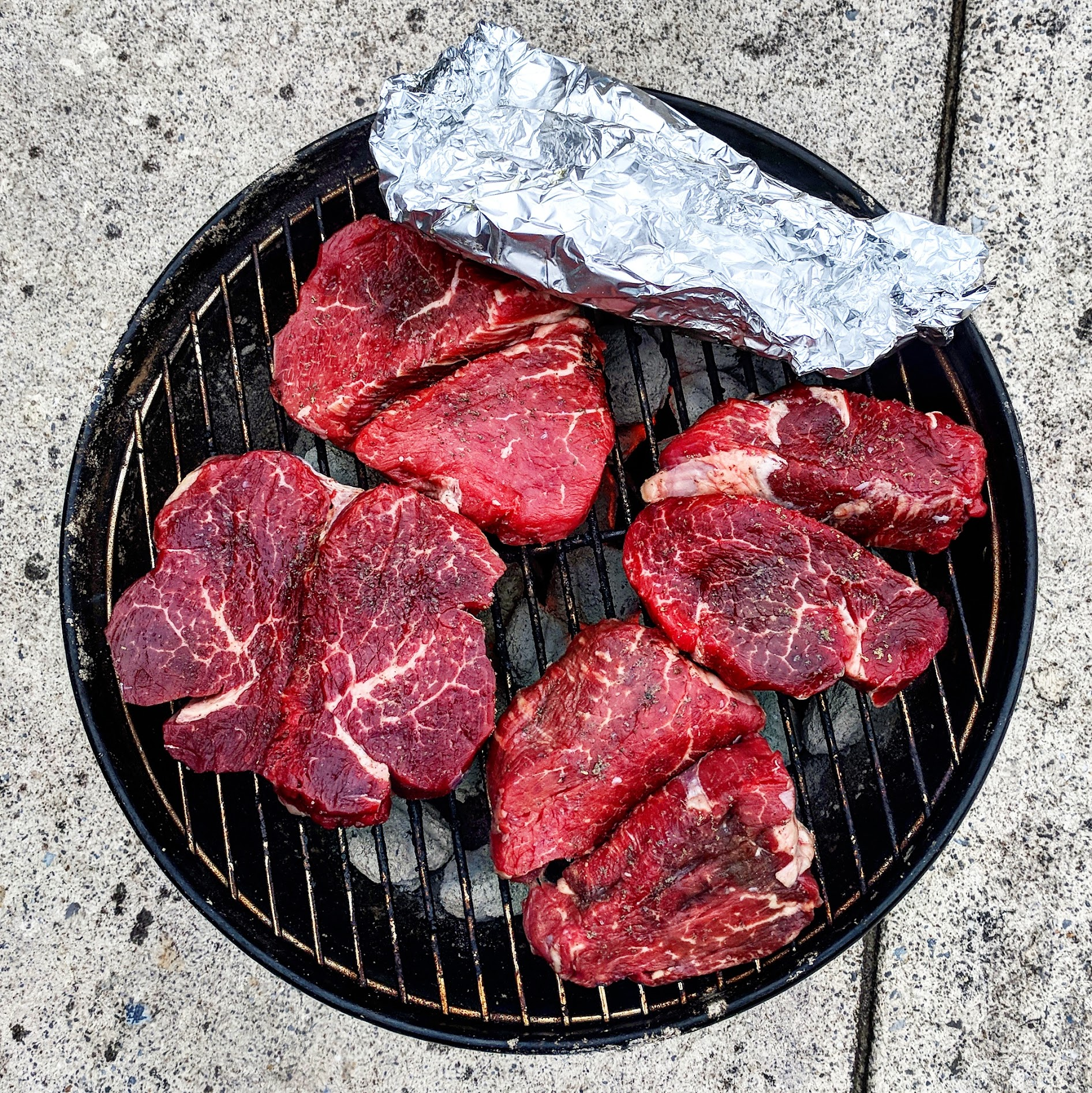 How to grill ribeye steak on a gas grill. - Ribeye steaks are such flavorful cuts of meat because of their marbling (fat content). The more marbling, the higher the USDA grades the steak. So, what's it take to grill an amazing ribeye steak on a gas grill? Let's find out below.