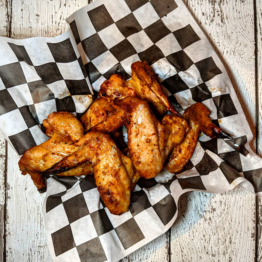 The Big Easy Chicken Wings. - Because who doesn't like deep fried chicken?