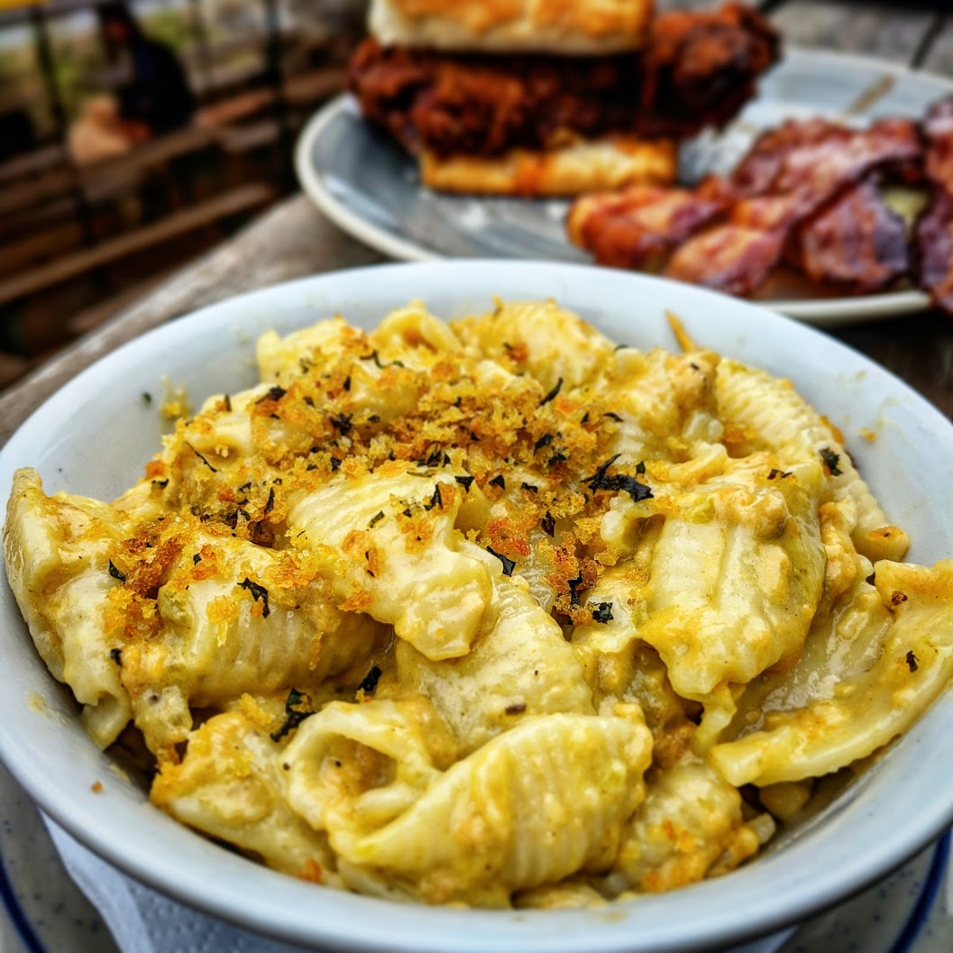 Learn how to grill your mac and cheese! - Macaroni and cheese is the ultimate side dish. It's creamy, cheesy, delicious and goes with almost any meal. This mac and cheese recipe is a classic that will put smiles on the faces of everyone at the dinner table.