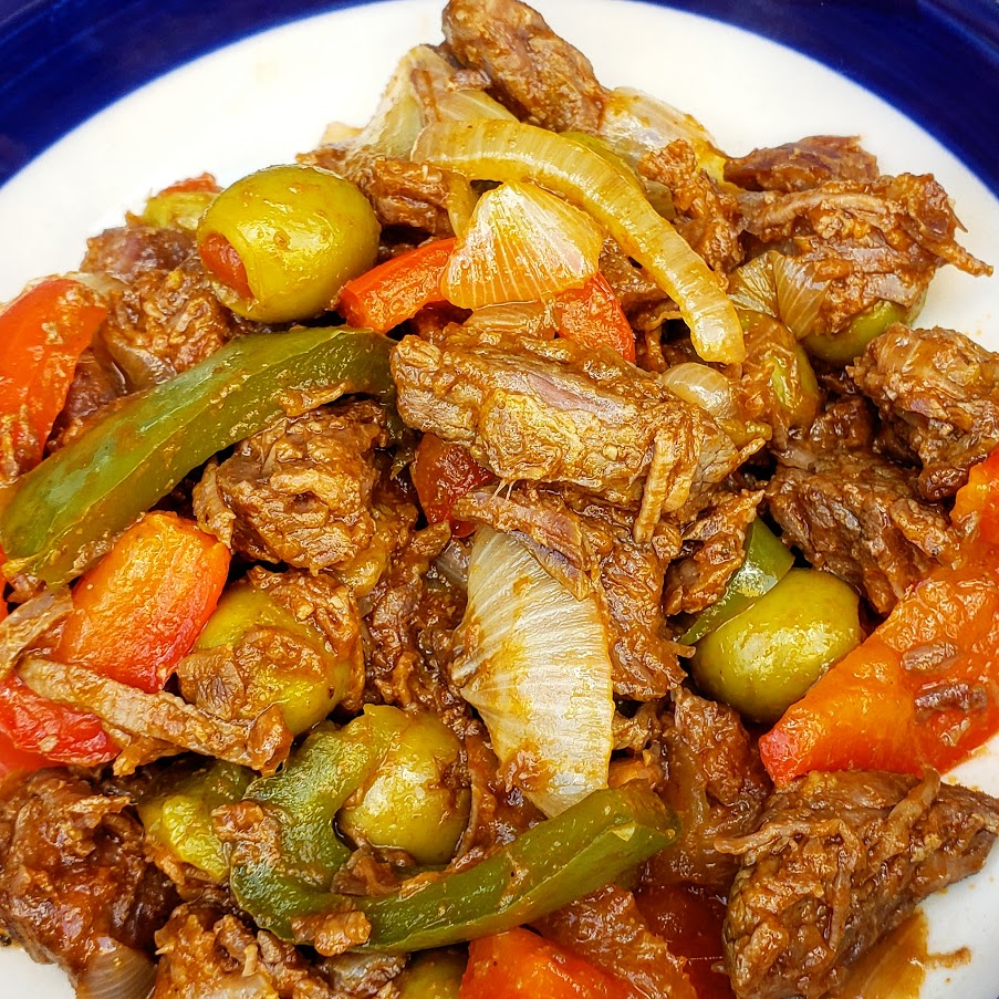 Learn how to make Cuban Ropa Vieja Beef. - Ropa Vieja is a delicious traditional Cuban dish of shredded beef.