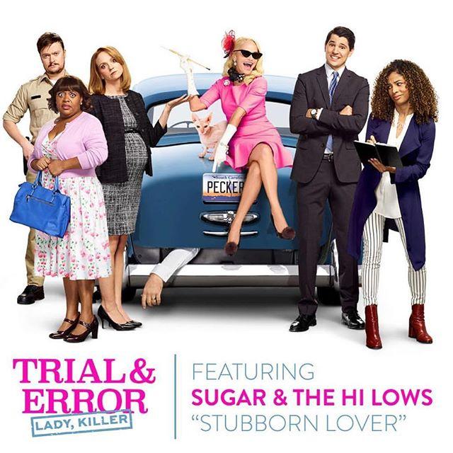 Tonight's episode of @nbctrialanderror featured @sugarandthehilows song #StubbornLover