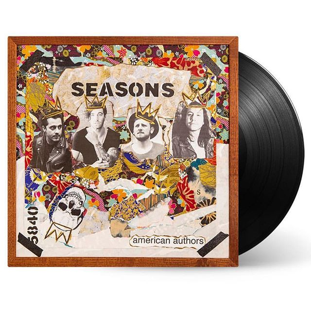 "Congrats to @americanauthors on their new album ""Seasons"" & to @trentdabbs & @casoncooley on writing and producing this album! Swipe right to see the songs they contributed to... (⭐️ written by @trentdabbs & @casoncooley & ✔️produced by Cason)"