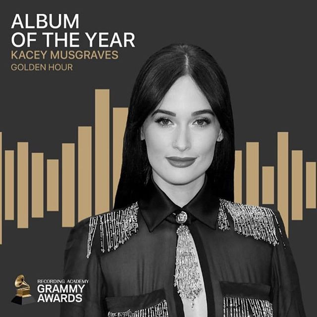 Congrats @spaceykacey on Album of the Year & Country Album of the year! This amazing album deserves all the awards. Congrats @tronian & @thesilverseas for making a Grammy Award winning album! #HighHorse #goldenhour