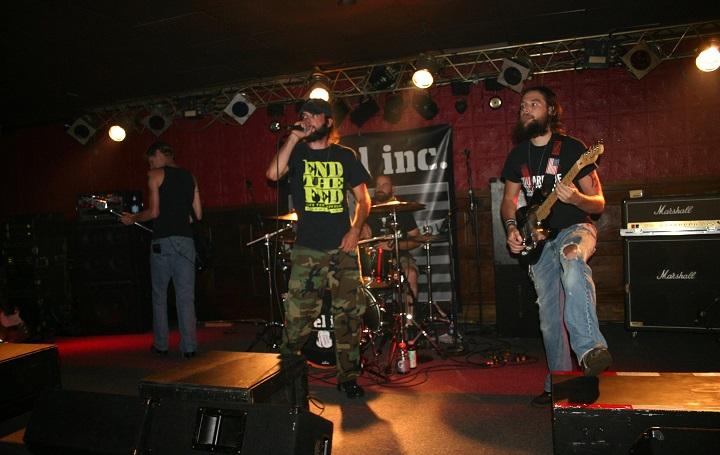 Rebel Inc perform Saturday at the Morning Star Festival *Photo Credit: Darlene Hassinger