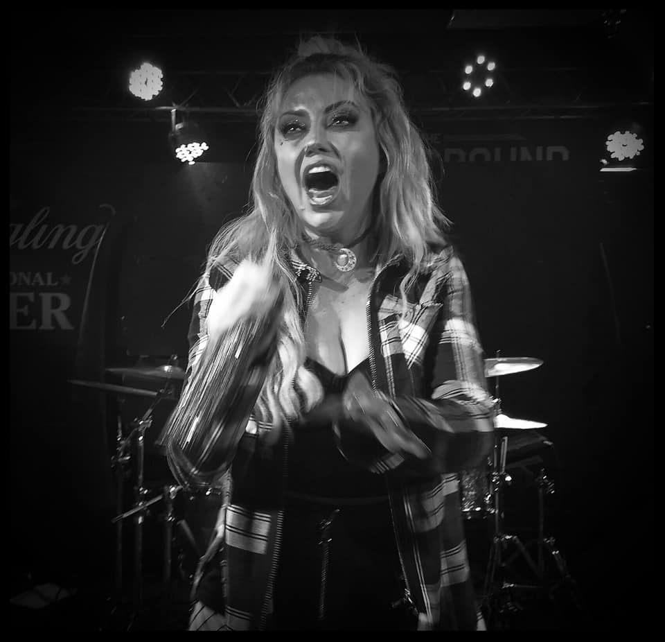 Christina Criss of Kaleido performs at cliffs tavern as part of August Assault. Photo Credit: 717 Entertainment.