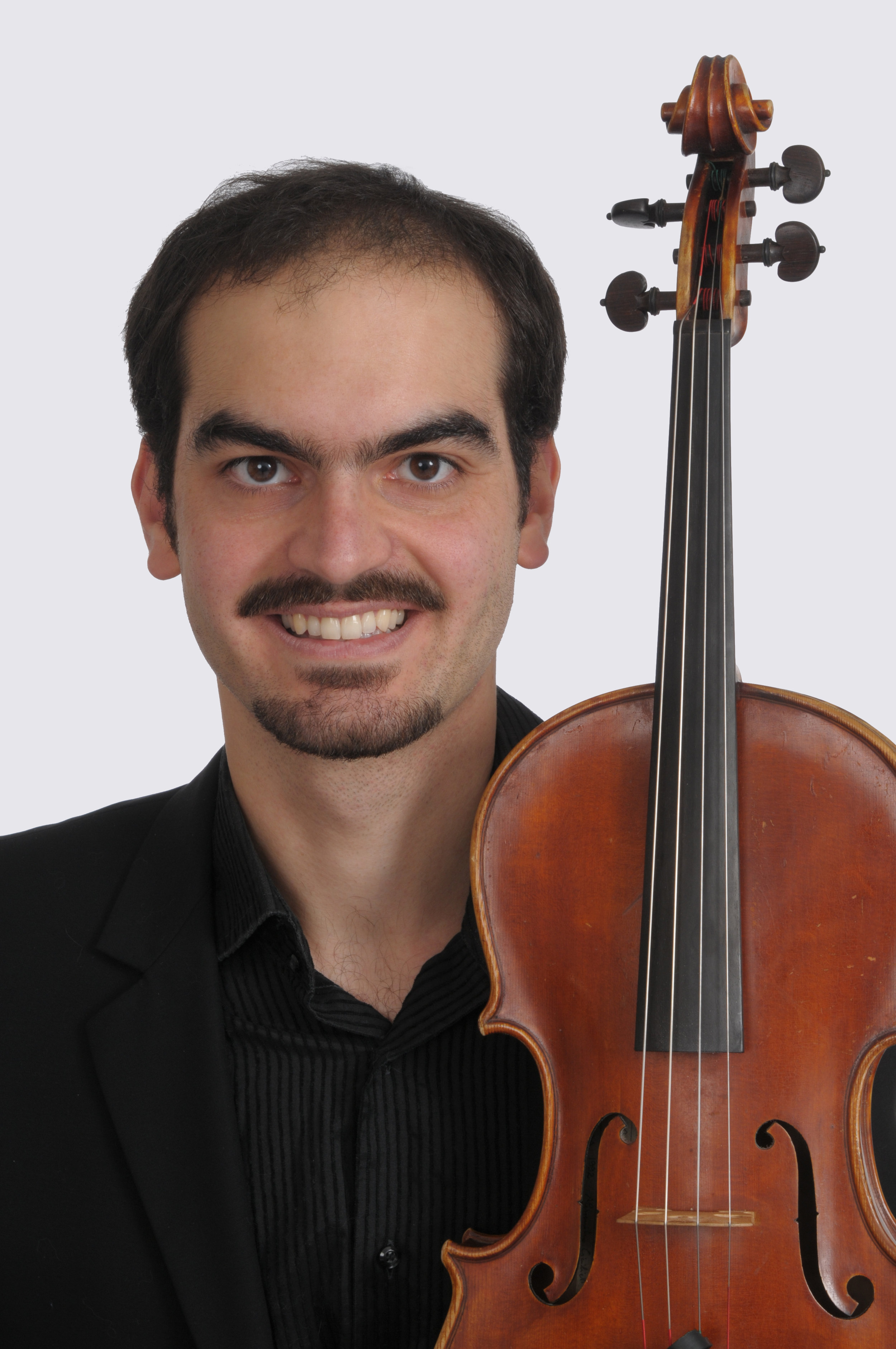 Arnaud Ghillebaert,principal viola - Arnaud Ghillebaert, originally from Paris, is the viola performance instructor at the University of Oregon. Before receiving his Doctorate of Musical Arts from Stony Brook University, he obtained his Masters' at the Royal College of London and played with many British orchestras including the London Symphony and the Academy of St Martin in the Fields. He is a founding member of the Elsewhere Ensemble, a chamber music/theater group that has performed extensively abroad and in the US.
