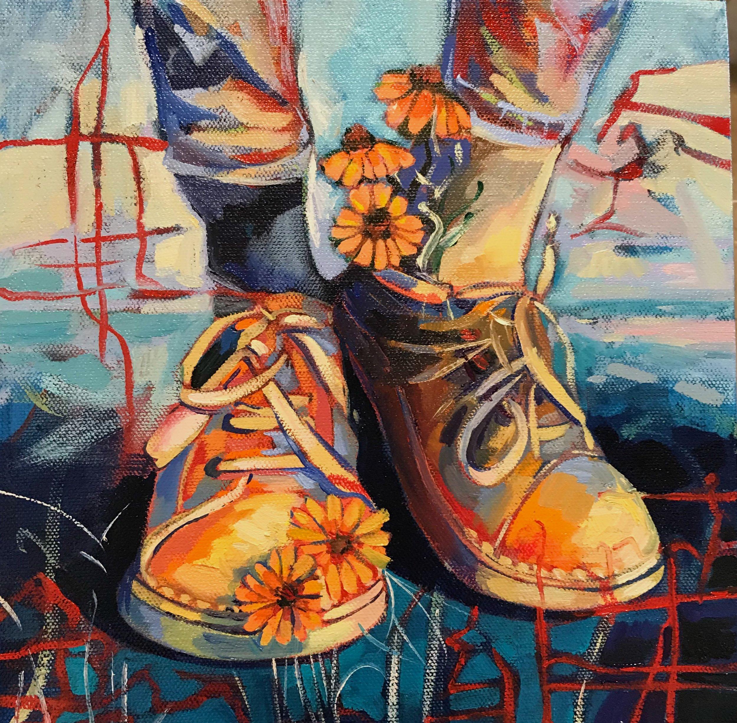 """""""Simha"""" Dalia's shoes"""