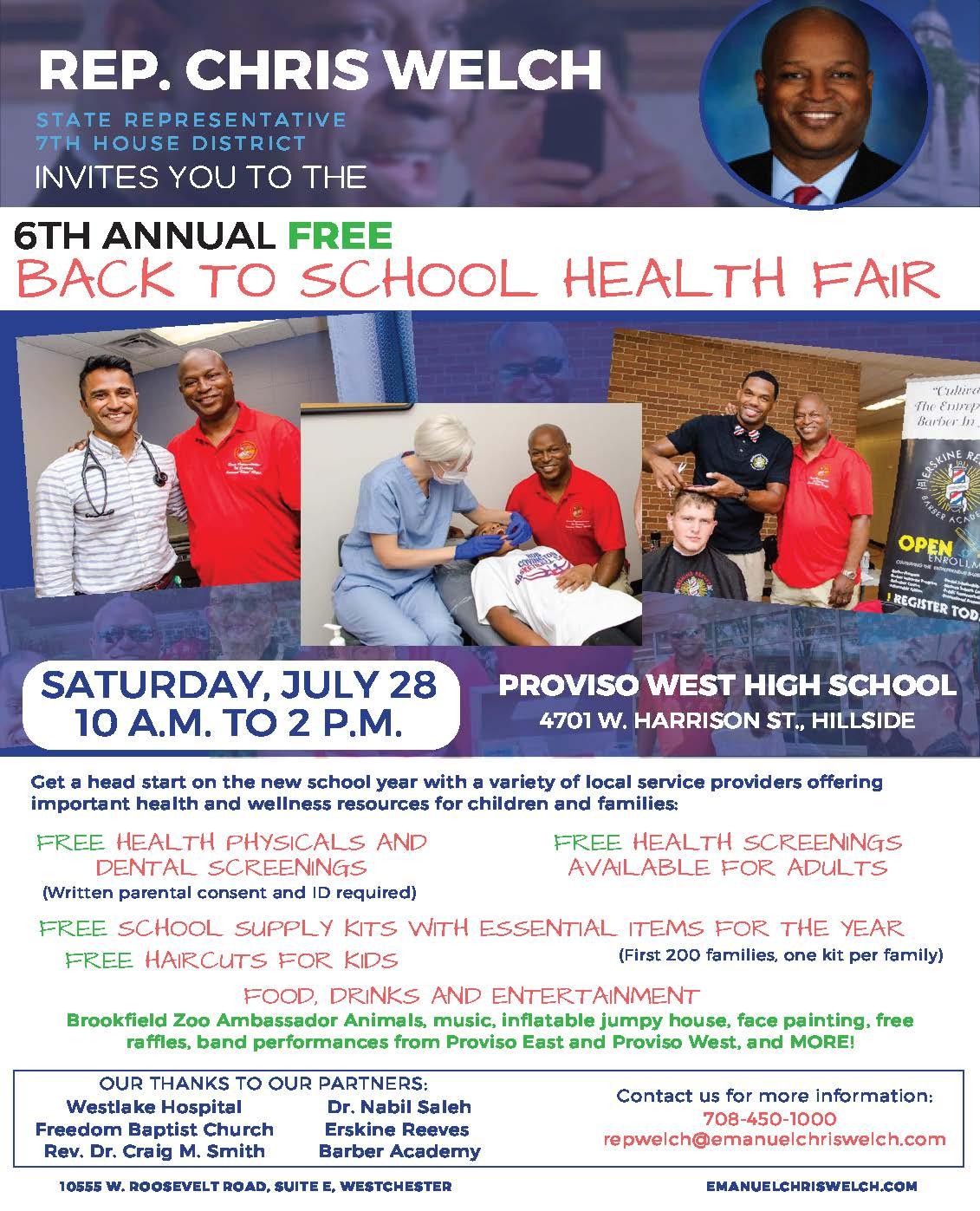 Rep. Welch Back to School Health Fair flyer  2018.jpg