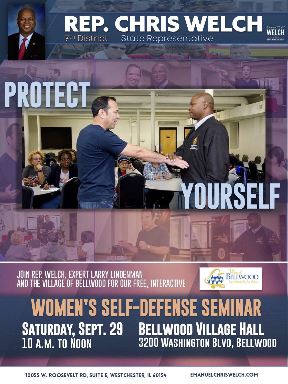 Rep. Welch women's defense seminar flyer Sept 2018.jpg