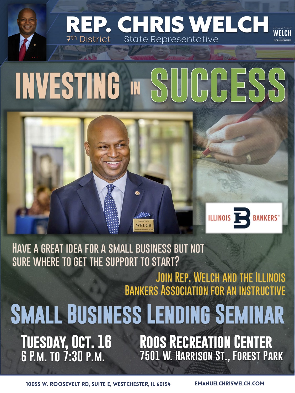 Rep. Welch small business seminar flyer Oct 2018.jpg