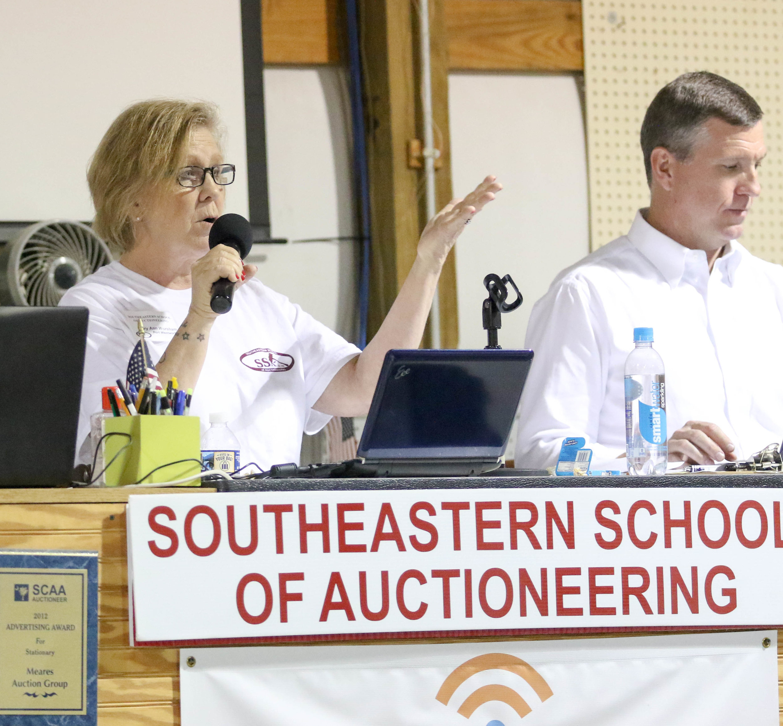 Developing Auctioneer Skills