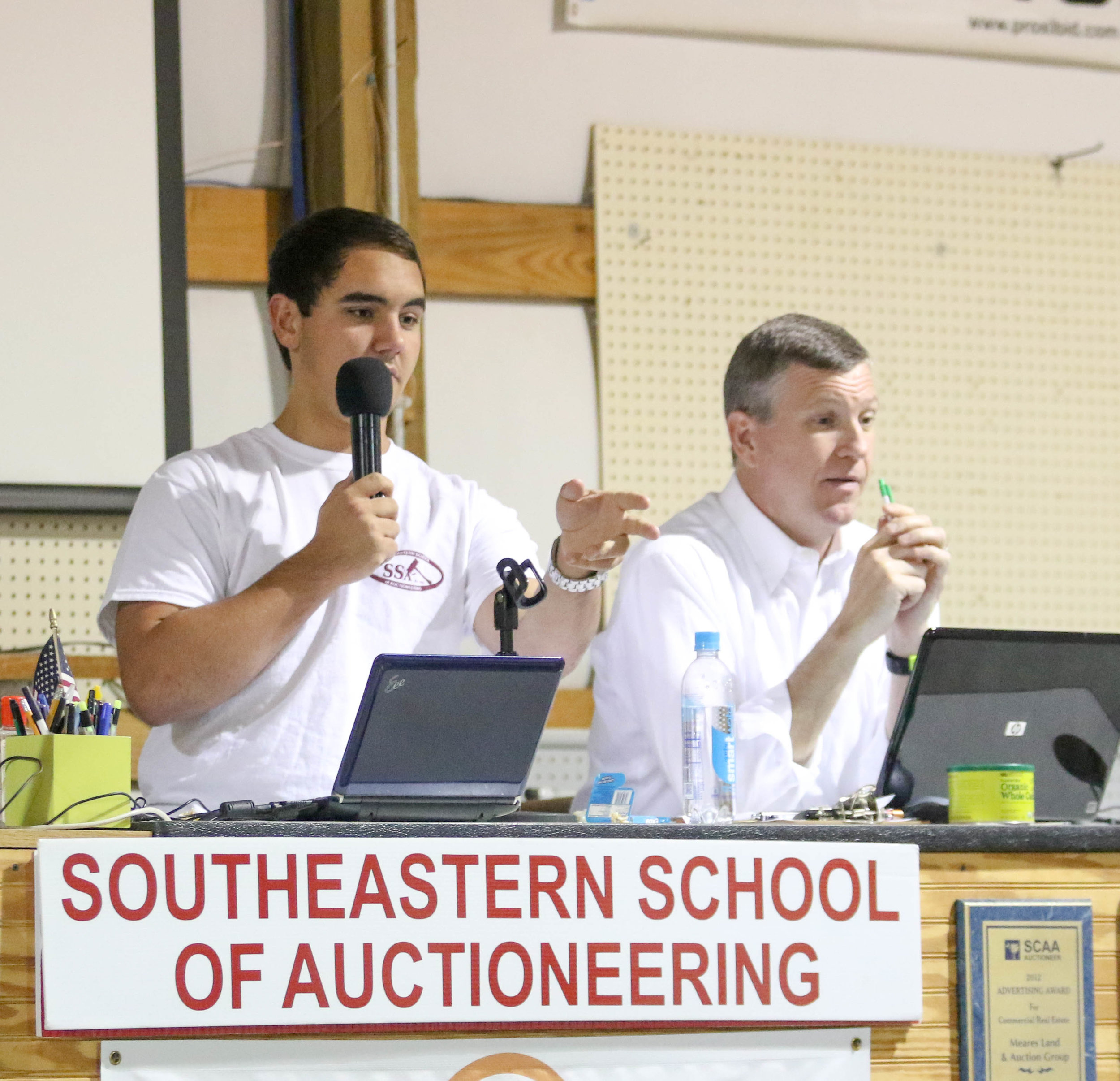 Developing Auctioneering Skills