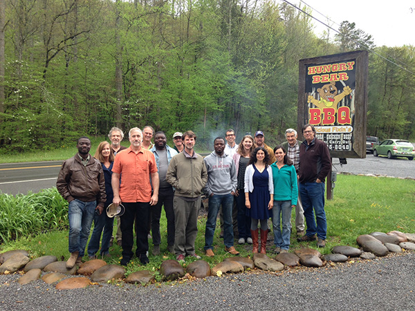 Cultural Plants Founding Group: US Forest Service, University of Tennessee Evolutionary Ecology Staff, Town of Pittman Center, Catalpa Partners, Forest Service Research staff