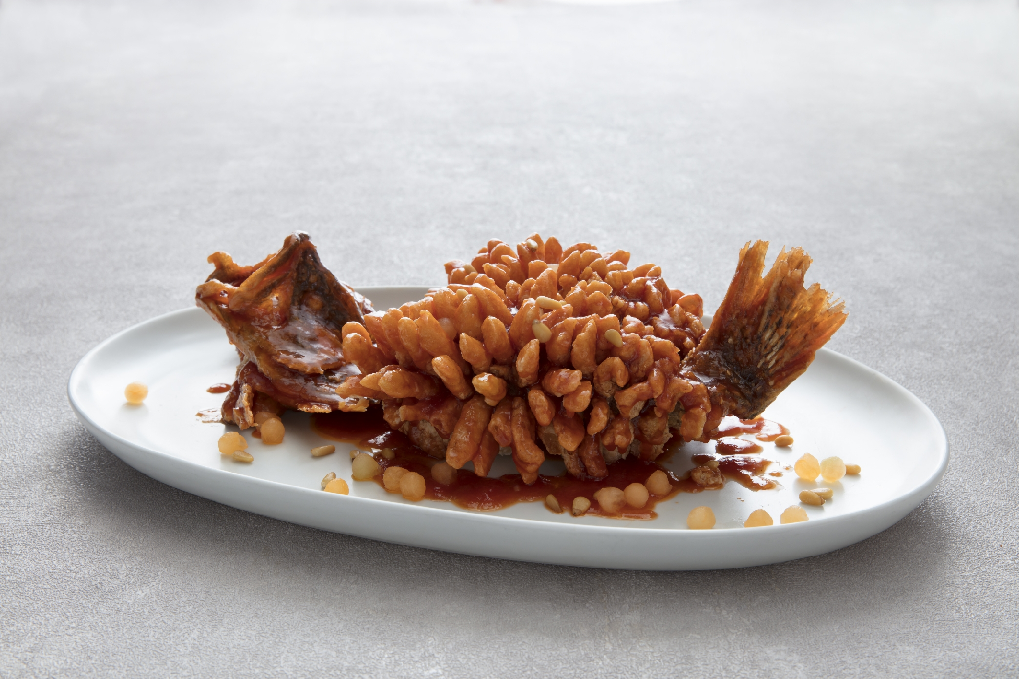 DaDong Song Shu Crispy Whole Fish with Sweet and Sour Sauce and Pine Nuts.jpg