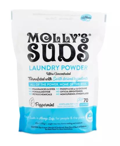 The average detergent is FULL of harsh chemicals that are no bueno for the environment and can be real bad for skin. As someone with very sensitive skin, I love this one, that's also EWG verified.