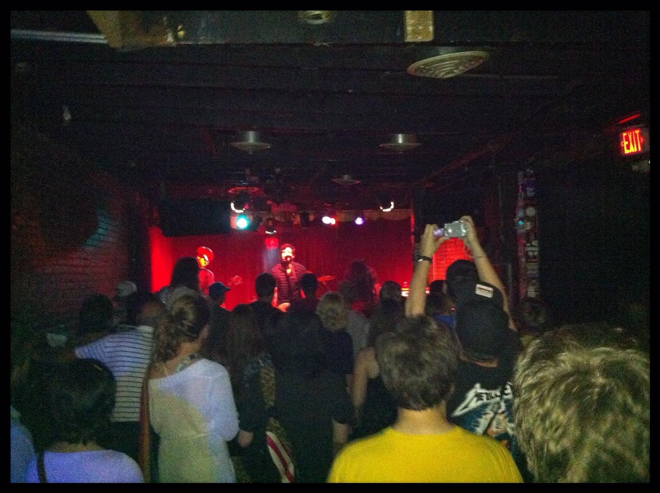 Show in Washington DC at The Velvet Lounge