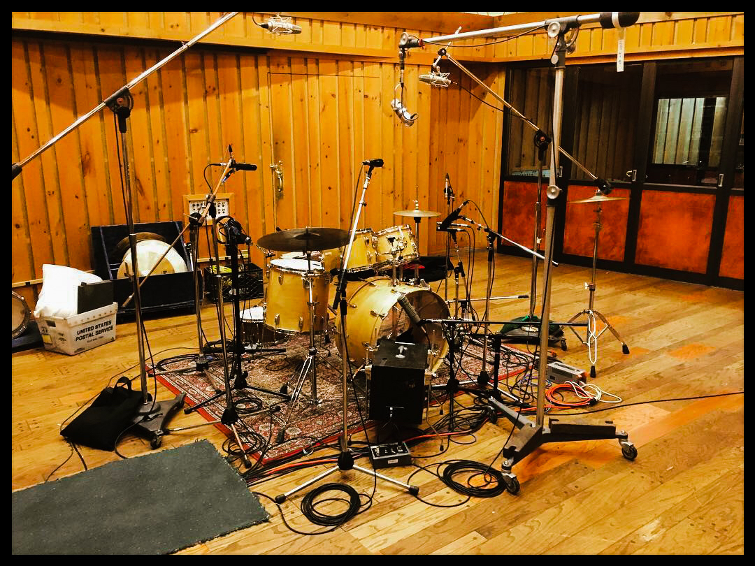 A look at the drum mics