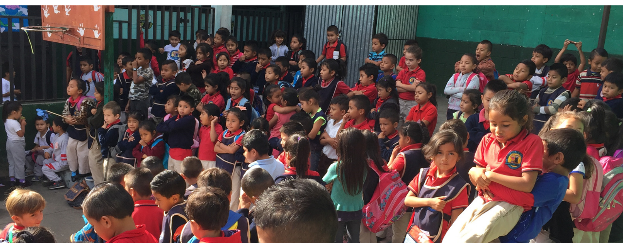 During our last trip to Guatemala, we conducted vision screenings at a local school.