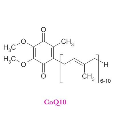 CoQ10   What It Does?   Powerful antioxidant, Stops Oxidation of LDL Cholesterol, Fuels Mitochondria, important for Heart liver and Kidney function   What It's Good For?   Congestive Heart Failure, High Blood Pressure, Angina, Mitral Valve Prolapse, Fatigue, Immune System Stroke, Cardiac Arrhythmias