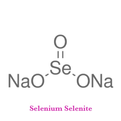 Selenium Selenite   What It Does?   Precursor for making glutathione, supports thyroid, cardiovascular reproductive function, antioxidant   What It's Good For?   Anti aging, reproductive health, detoxification