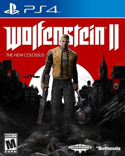 Wolfenstein II: The New Colossus - PlayStation 4 - $24.48 - $15.51 off or 39%