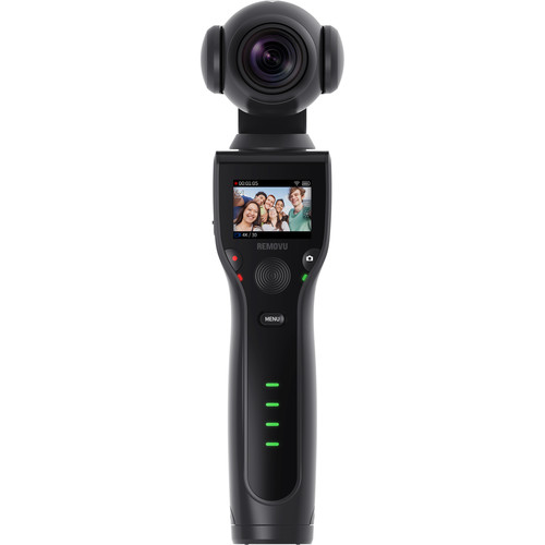 REMOVU K1 3-Axis Handheld Gimbal with 4K Camera - $228.99 - $71 off or 24%