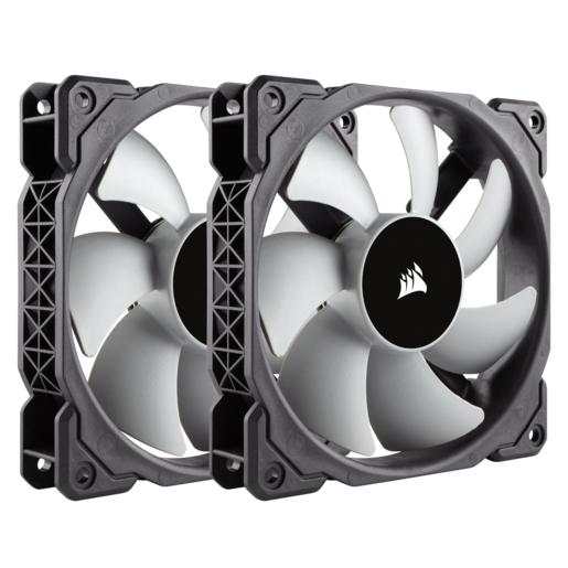 Corsair ML120, 120mm Premium Magnetic Levitation Fan (2-Pack) - $28.05 - $6.94 off or 20%