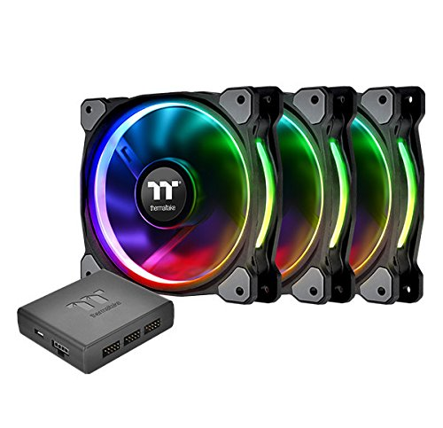 Thermaltake Riing Plus 12 RGB TT Premium Edition 120mm (Triple Pack) - $85.76 - $14.23 off or 14%