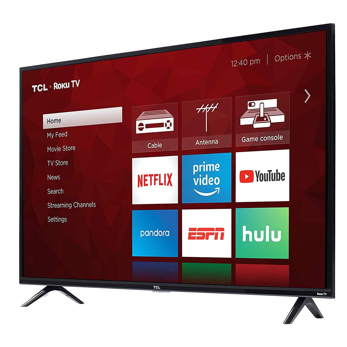 "TCL 49S325 49"" 1080p Smart Roku LED TV (2019) - $219.99 - $60 off or 21%"