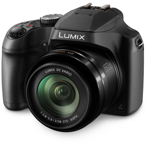 PANASONIC LUMIX FZ80 4K Digital Camera - $297.99 - $102 off or 26%