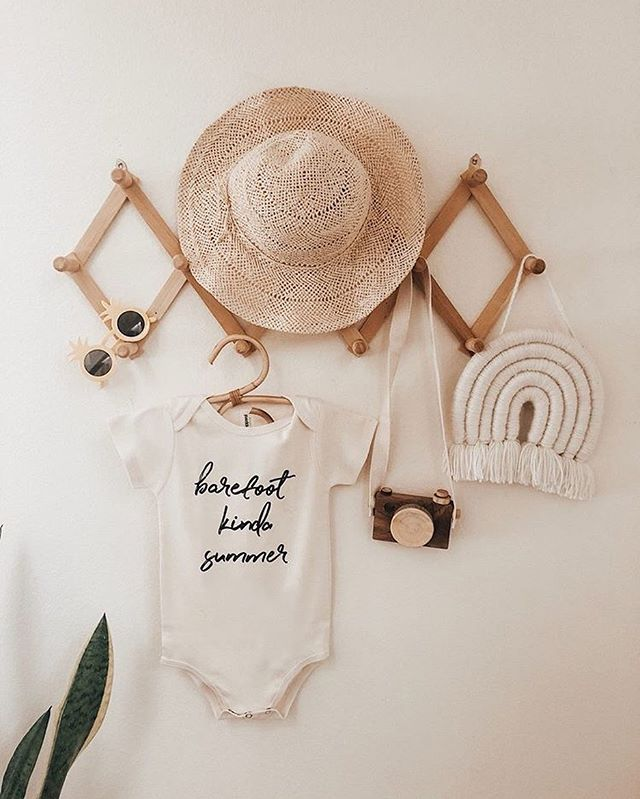 Nothing prettier 🌿 Don't forget to snag one of these before the end of summer! Use code: SUMMER to save!  #barefootsummer #babyonesie #organicbabyclothes #ohheymama #letthemplay #childhoodmemories