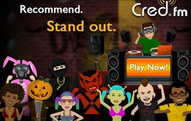 Cred.fm - Game Designer2011Prototyped and designed in-game economy and social gameplay mechanics. Designed and implemented all in-game User Interface with Photoshop CS5 and Flash CS5. Coordinated with teams at all levels of development using Jira with Greenhopper.