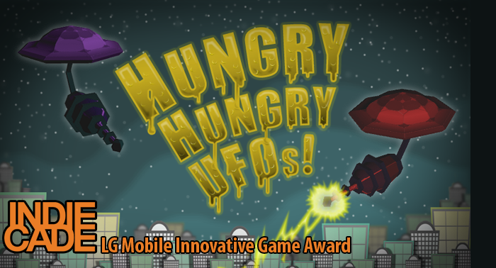 Hungry Hungry UFOs! - Co-Creator2011Led 3-man team to create a 3rd person multi-player stereoscopic 3D mobile game for Android. Won first place at Indiecade Mobile 3D Game Jam.