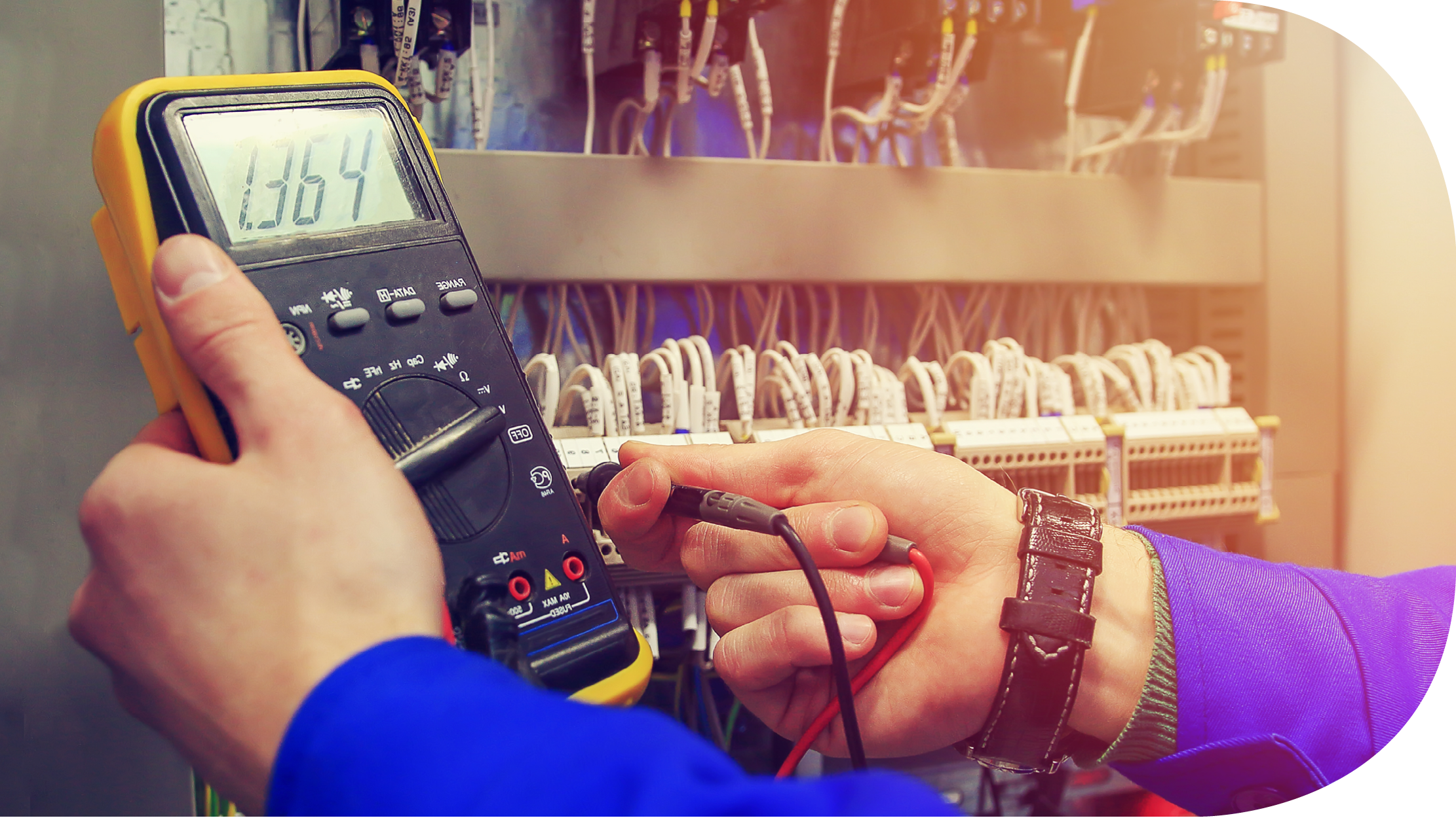 Electricity - We provide electrical engineering, installation and maintenance services (low and high voltage).