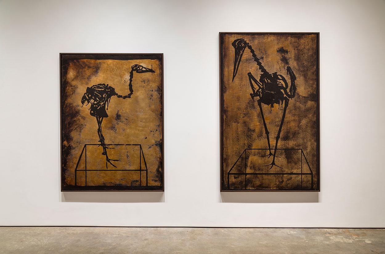 Excavations  2014  Yossi Milo Gallery