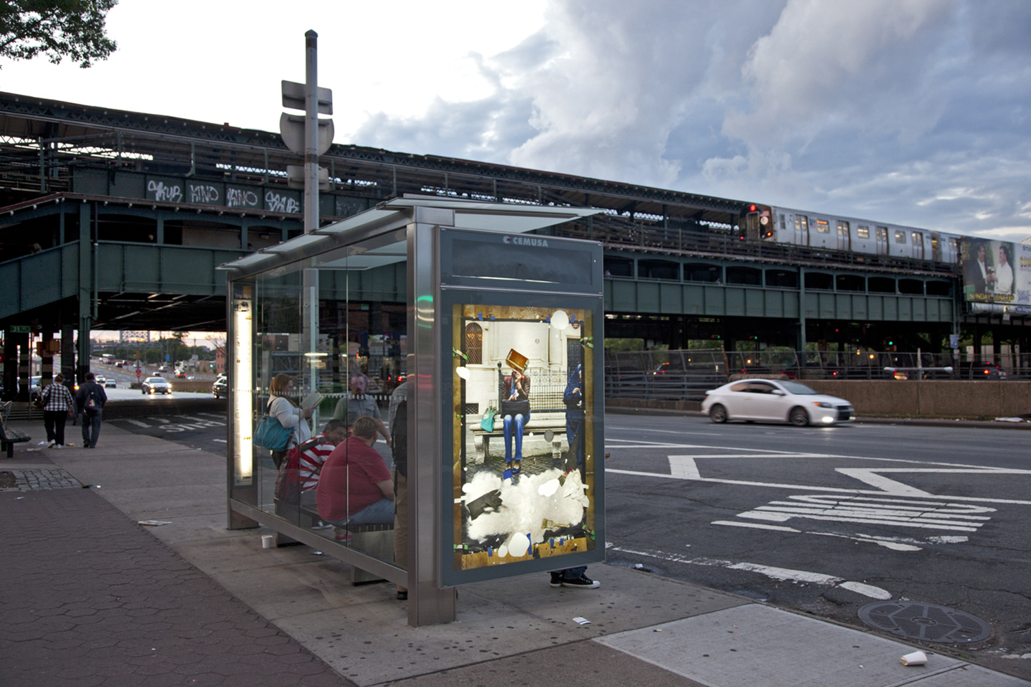 Bus Shelter by MatthewBrandt.com