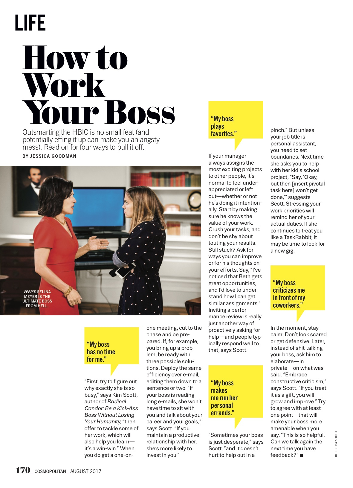 How to Work Your Boss