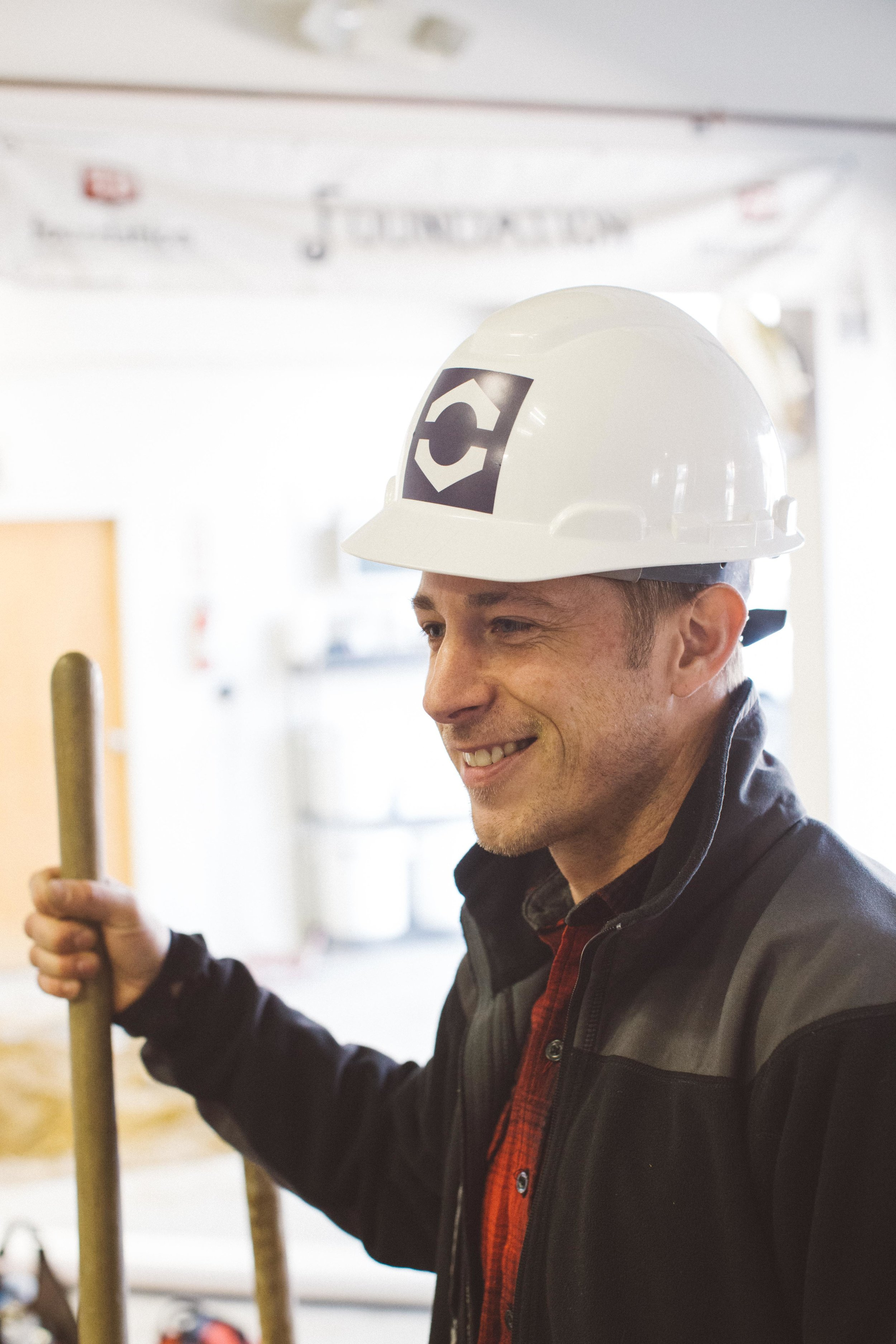 Ryan Lessard of Optimum Construction in Greater Portland Maine at Foundation Brewing Company.jpg