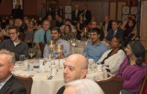 Attendees at the Fall Fundraising Event at Lockkeepers restaurant