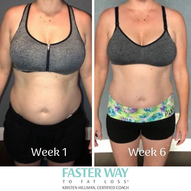 "#transformationthursday ..⠀ .⠀ This client and her husband recently completed their initial round of FASTer Way with me.  So many people think they need to wait to start making a change until the perfect time... no more vacations, holidays, etc.  I am sure you are like me, and your schedule is always full of reasons to ""wait until its a better time"".⠀ .⠀ She and her husband BOTH traveled over the last two months, and were still making progress!  Read her own words:⠀ .⠀ ""FASTer Way has changed so many things for me in just 6 weeks. Having 3 babies in 4 years took a huge toll on my body & the 'ideal' image I had for my body. It's amazing what just six weeks has done to transform the way I look and also the way I THINK about food. FASTer Way is the way my husband & I will be living from now on. The encouragement & explanation of everything by Kristen for these last six weeks has been phenomenal. To say we got the best coach is an understatement! I'm beyond grateful to have this knowledge & can continue this way of eating/living to maintain a healthy lifestyle for our family.""⠀ .⠀ Tomorrow I will be announcing the next round to begin learning the FASTer Way!  Stay tuned... and then grab your spot quickly!  With back to school and summer travels over, this group will fill up early. @kristen.hillman ⠀ .⠀ .⠀ .⠀ #transformation #healthychanges #healthyfamily #takingcareofmom #changeyourmindset #healthyviewoffood"