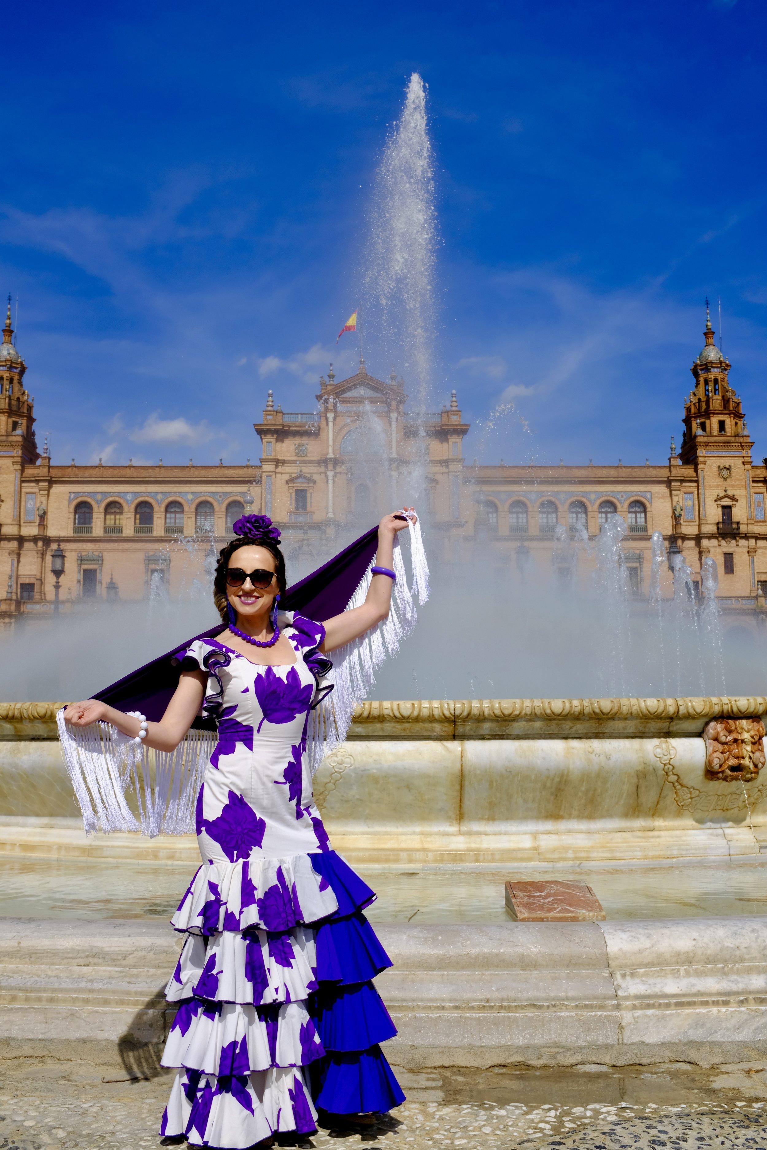 Plaza de Espana_ Feria de Abril_City Nibbler_Seville