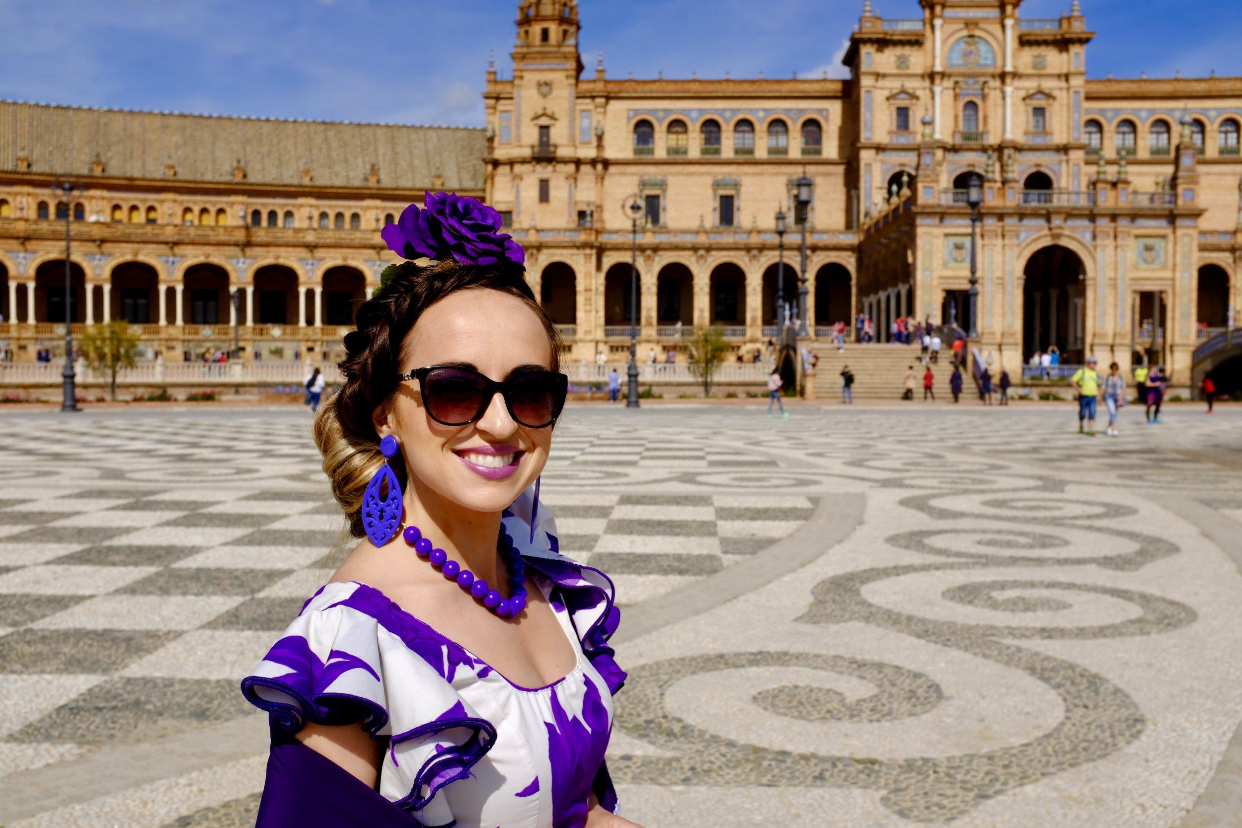 Plaza de España_Feria de Abril_ City Nibbler_Seville
