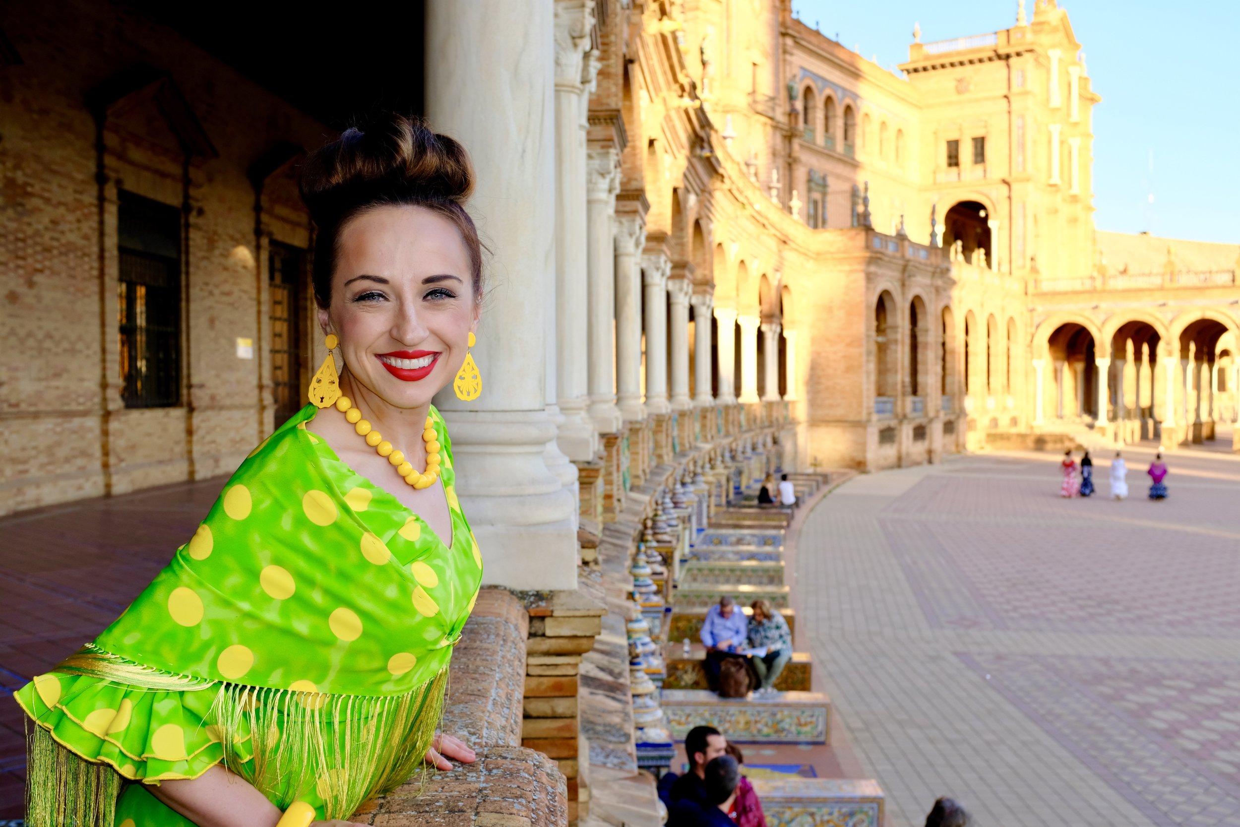 Plaza de España_Feria de Abril_City Nibbler_Seville