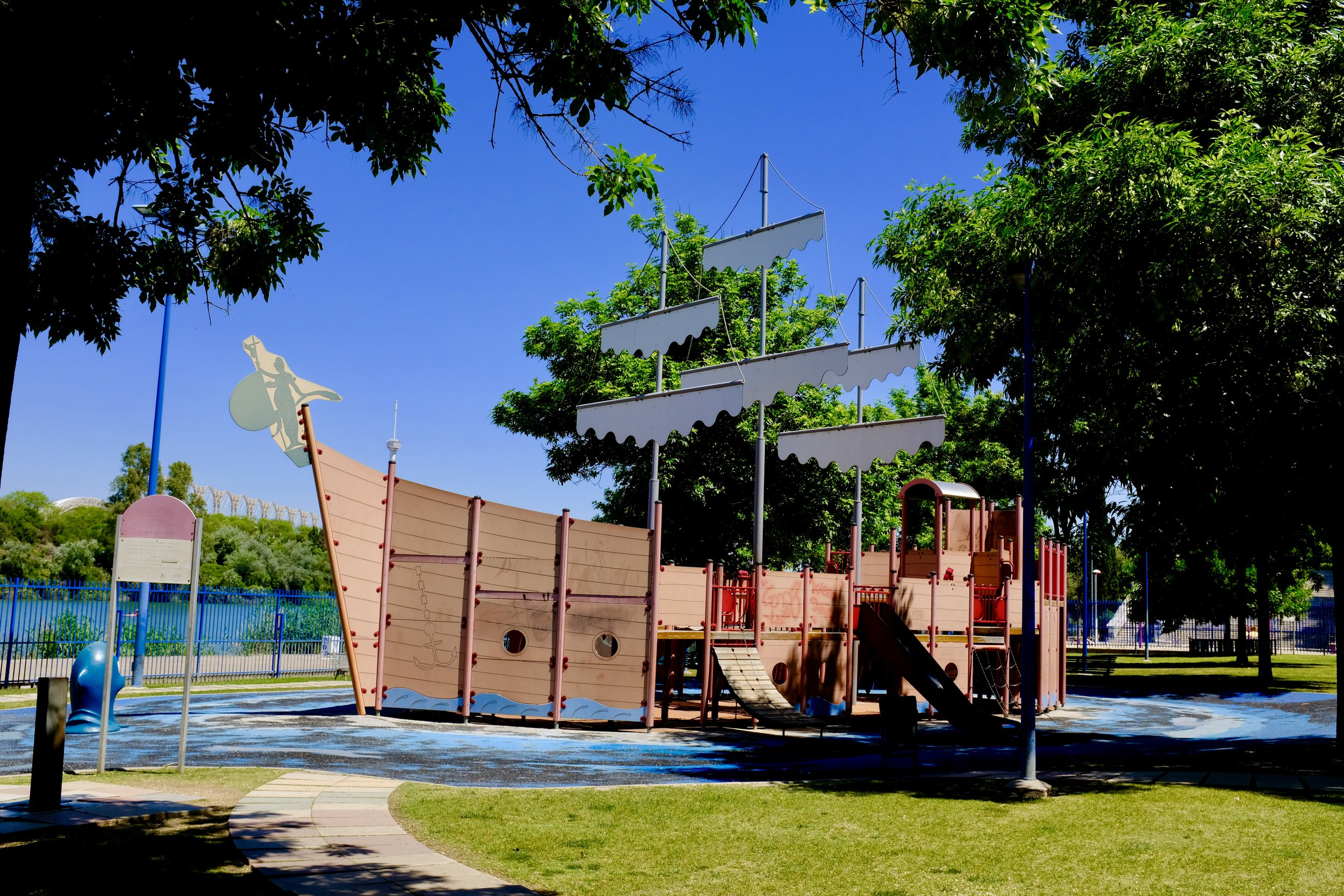 Playground Pirate Boat_City Nibbler_Seville